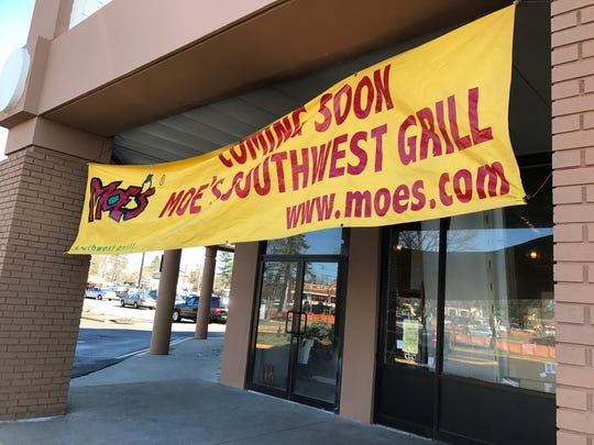 Moe's Southwest Grill is coming to Toms River.