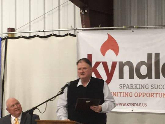 Walter Hazelwood named Kyndle's 2017 Agriculturalist