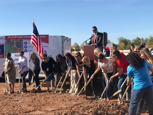 American Leadership Academy groundbreaking