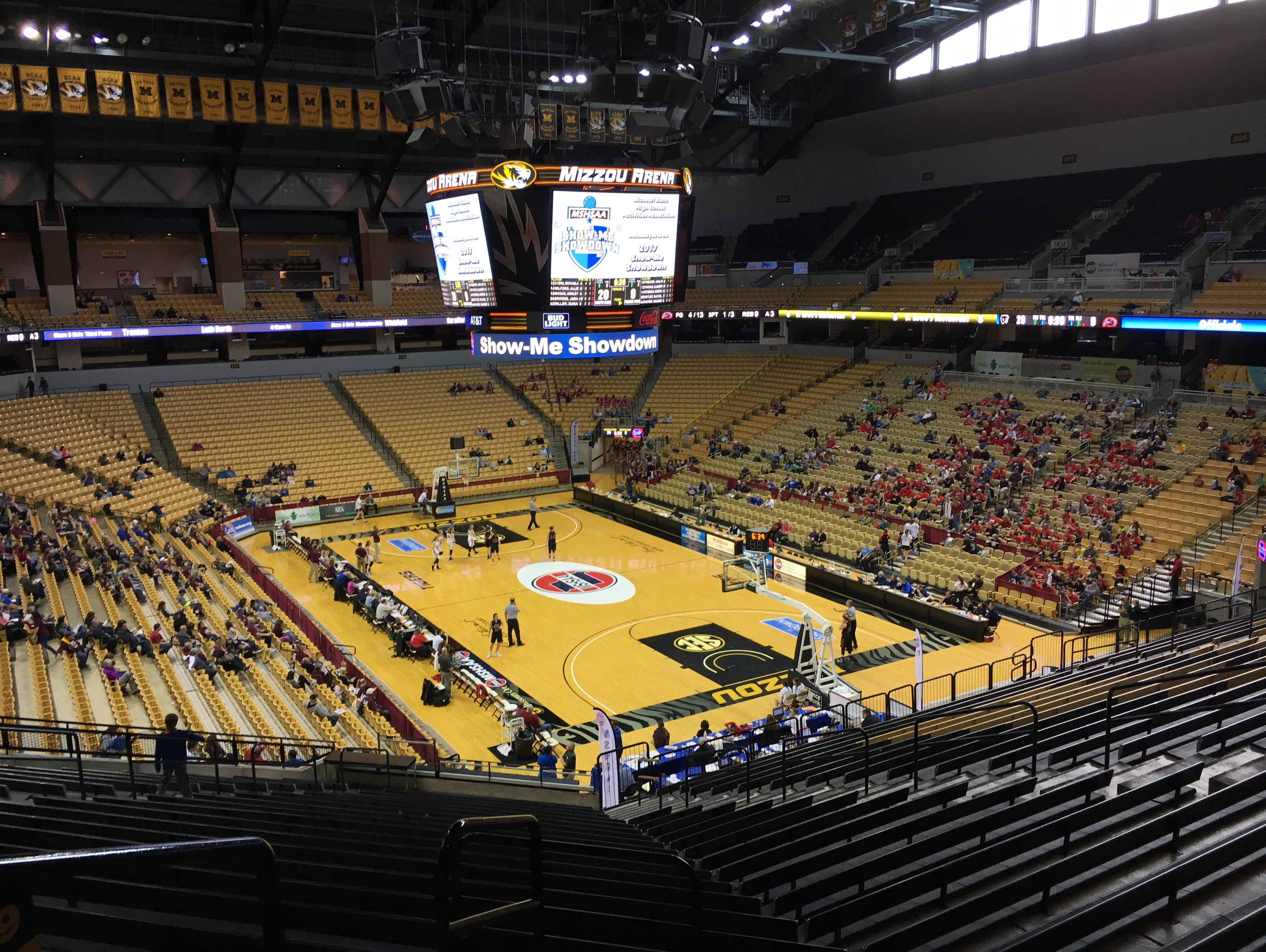 Mizzou Arena hosts the 2017 Missouri high school basketball state championship finals on Saturday, March 11.