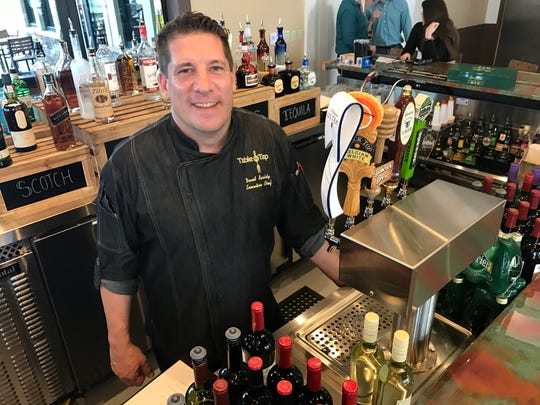 David Rashty is the executive chef for Table & Tap