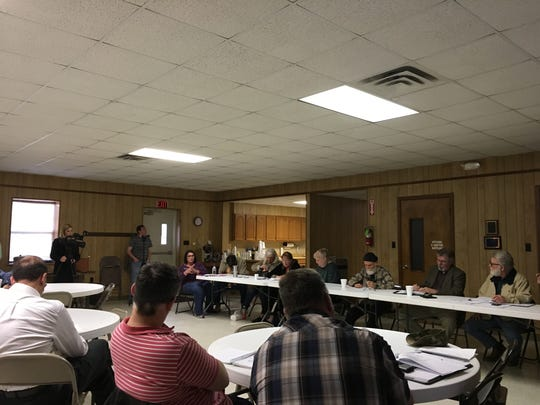 The Camp Minden Citizens Advisory Group held a regular meeting Monday, March 13, at the First Baptist Church in Doyline.