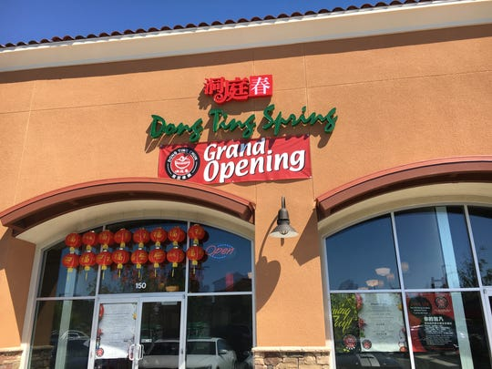 The Chinese restaurant Dong Ting Spring opened in January at the Thousand Oaks Marketplace, where its neighbors include Jimmy John's Gourmet Sandwiches and the new Habanero Mexican Grill.