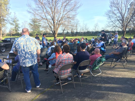 River Tasalmi neighborhood meeting