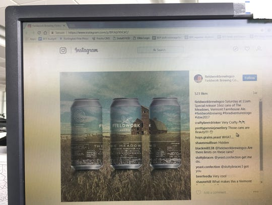 Fieldwork Brewing Co. in California makes a beer labeled