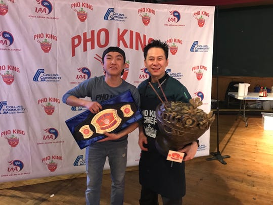 Pho 515 won both the Pho King People's Choice Award
