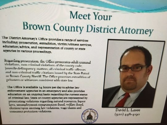 NEWEye profiles of Brown County elected officials are only partially readable, even on a desktop computer screen.