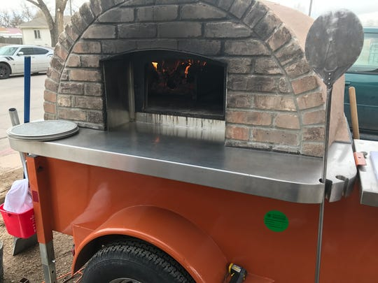 Blazin Wood Fired Pizza is run by old 900 Degree Wood Fired Pizza employees and is using the old Donnie's Wood Fired Pizza oven.