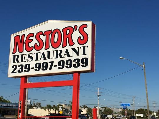 Nestor's Restaurant in North Fort Myers serves Greek