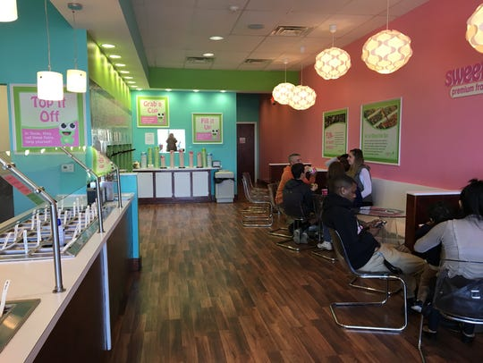 sweetFrog in Waynesboro reopened Friday, March 17,