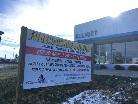 Elliott Auto on Greenville Avenue in Staunton is now