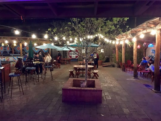 Hope & Anchor, 4012 N. Mesa St., has a large outdoor patio. A full food menu is available from the adjacent Sabertooth Food Co.