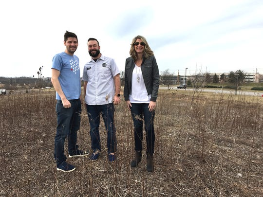 The co-founders of Sonder Brewing, coming this fall to Deerfield Township. From left: Daniel Schmerr, Justin Neff and Jennifer Meissner.