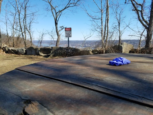 State Line Lookout Crime Scene