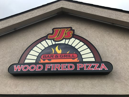 The new sign at JJ's Bar & Grill at 4015 S. Taft Hill
