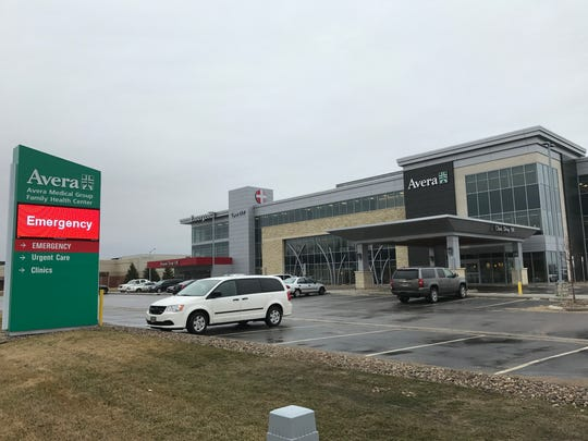 Avera Health's new clinic in western Sioux Falls, near 28th Street and Marion Road. The clinic has urgent care and an emergency room.