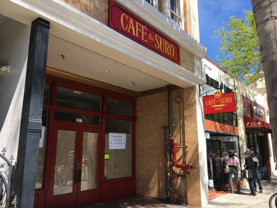Cafe du Suro in downtown Ventura will serve French pastries and Intelligentsia coffee when it opens at an as-yet unknown date.