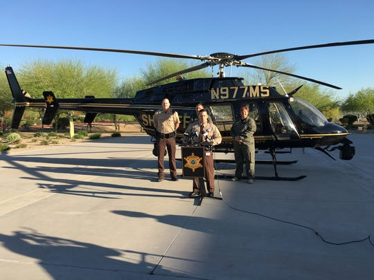 From left to right: Sgt. David Ayers, Deputy Richard
