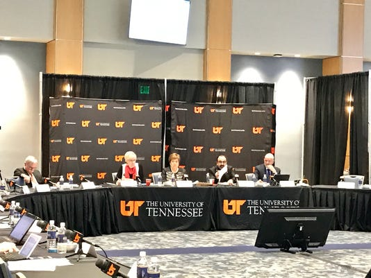 UT board of trustees subcommittee on student conduct, rights and responsibilities