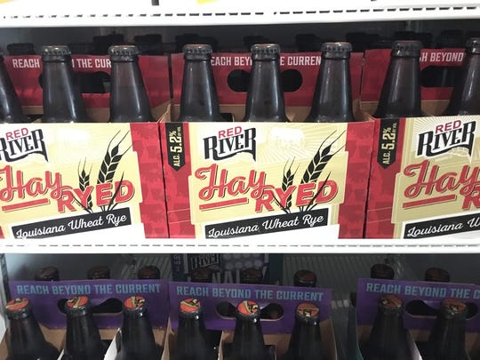 A six-pack of Hay Ryed beer from Red River Brewing.