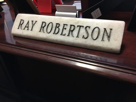 Staunton Commonwealth's Attorney Ray Robertson announced