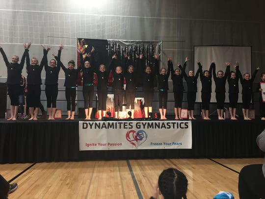​The Woodson YMCA's Level 2 gymnastics team earned