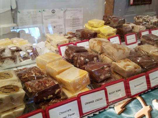 Find 25 flavors of fudge at Grand Rivers Fudge factory, and a few special varieties here in Evansville at Thyme in the Kitchen and The Milk and Sugar Scoop Shoppe, both on Franklin.