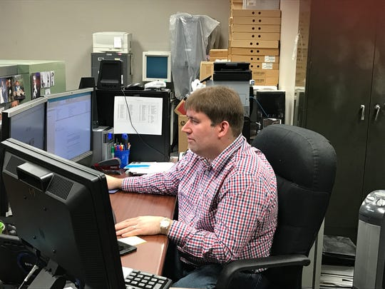 Brent Jacobs works in IT for  Henderson County