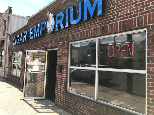The Cigar Emporium in Lyndhurst remained open on Wednesday, April 5, 2017, following a Treasury Department raid the week prior.