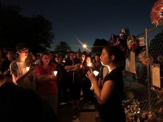 Glendale vigil