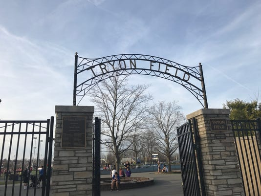 Tryon Field front gate