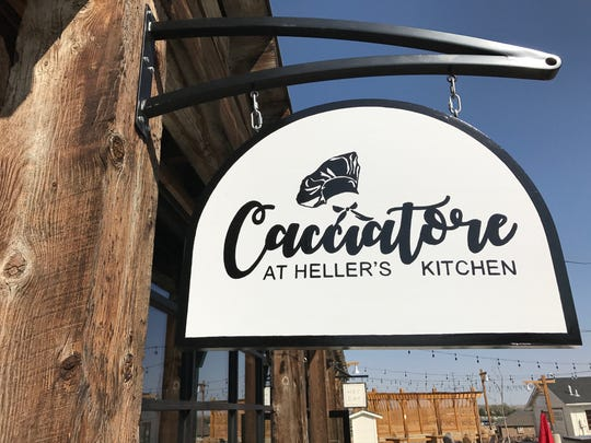 Cacciatore at Heller's Kitchen is open at Jessup Farm