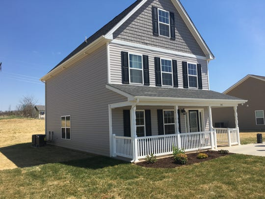 This home was given away to a Waynesboro family on Tuesday courtesy of Nexus Services Inc.