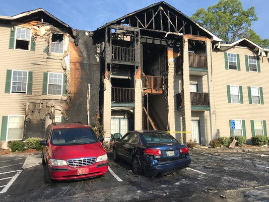 South Knoxville apartment fire
