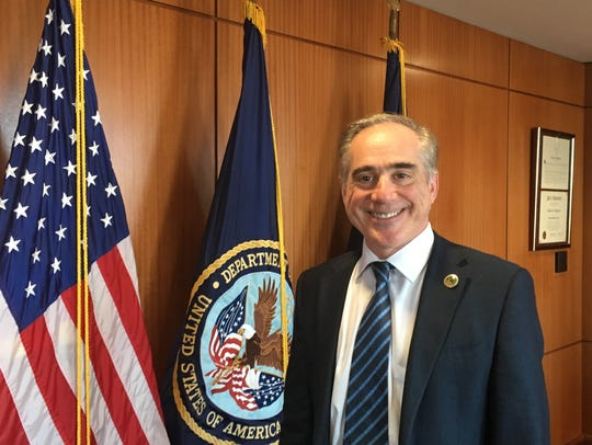 VA Secretary David Shulkin, the only holdover from