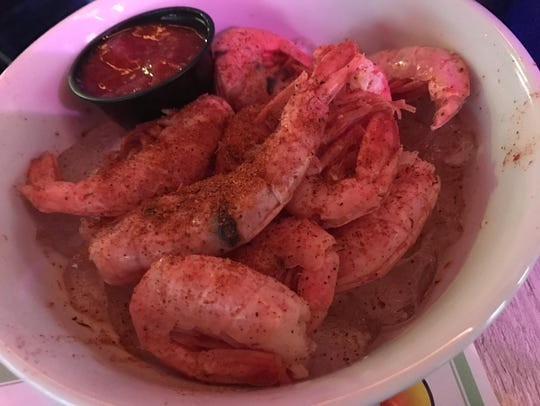 Peel and eat shrimp from FINS Seafood & Dive Bar in