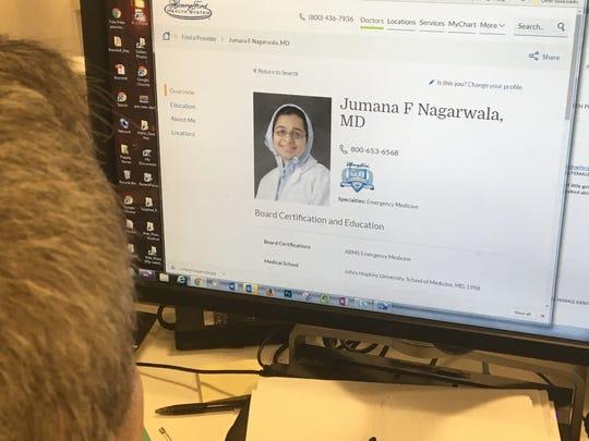 Detroit area physician Jumana Nagarwala has been charged