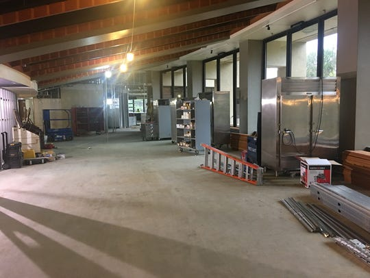 Renovation work is underway for Muse at Sentry, the