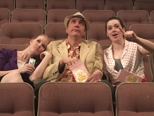 """Megan Potter, left, Raine Hokan and Rebecca Hunkins perform in Neil Simon's hit comedy, """"I Oughta Be In Pictures,"""" opening on April 21 at Pioneer Place."""