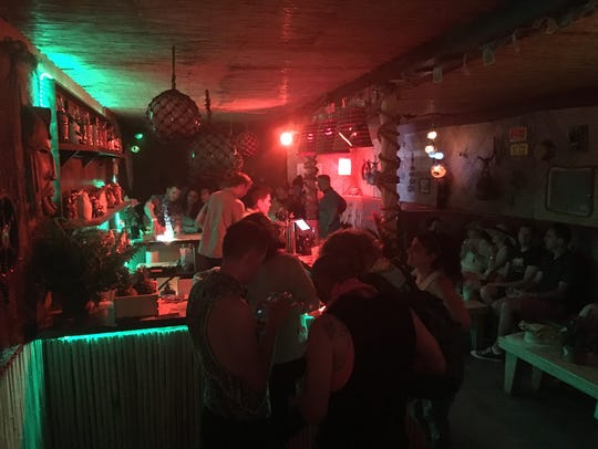 A full look at PDTiki, the secret tiki bar made out