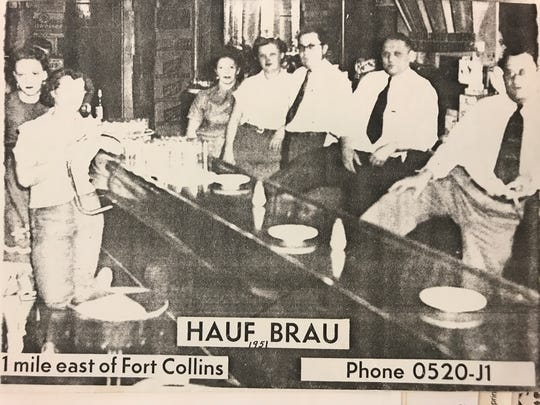The old Hauf Brau bar in Fort Collins.