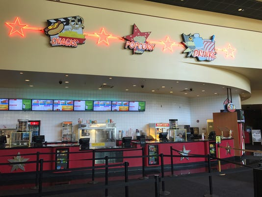 The Concessions Counter At AMC Surprise Point 14 Theater Photo Perry Vandell Republic