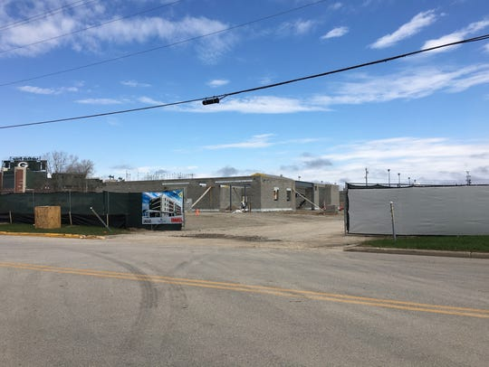 Construction is underway on the Home2 Suites, a 92-unit