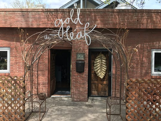 The Gold Leaf Collective opened in April as the city's lone completely vegan restaurant. It is closed until further notice.