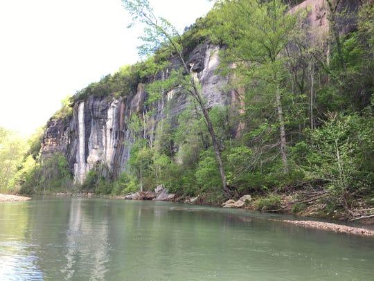 The Buffalo River in Arkansas.