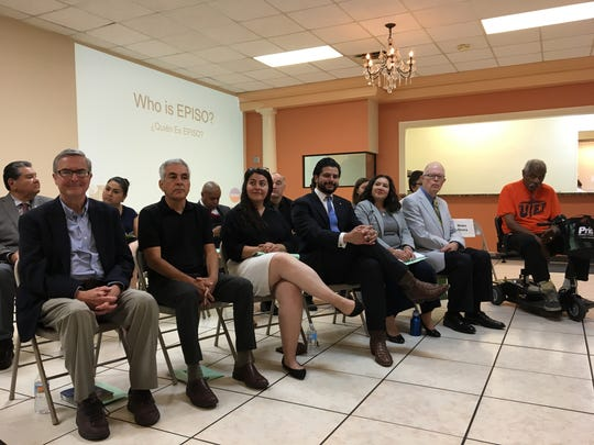 City of El Paso candidates wait for their turn to answer