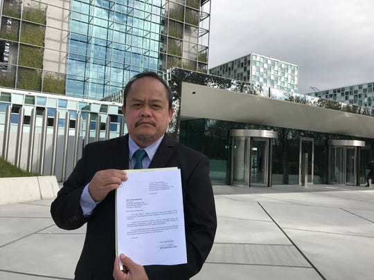 Lawyer Jude Sabio from the Philippines poses for a