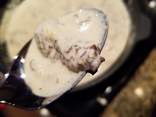 The finished sauce is decadently rich and flavorful. If you allow yourself one meal a year based on cream and butter, make this dish part of it.