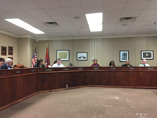 The Jackson-Madison County School Board voted Tuesday