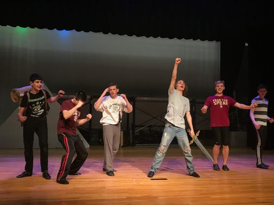 "Walter Panas High School presents ""Monty Python's Spamalot,"" at 7:30 p.m., April 28; 2 and 7:30 p.m., April 29; Advance: $10; Door: $12; 914-739-2823, ext. 555"
